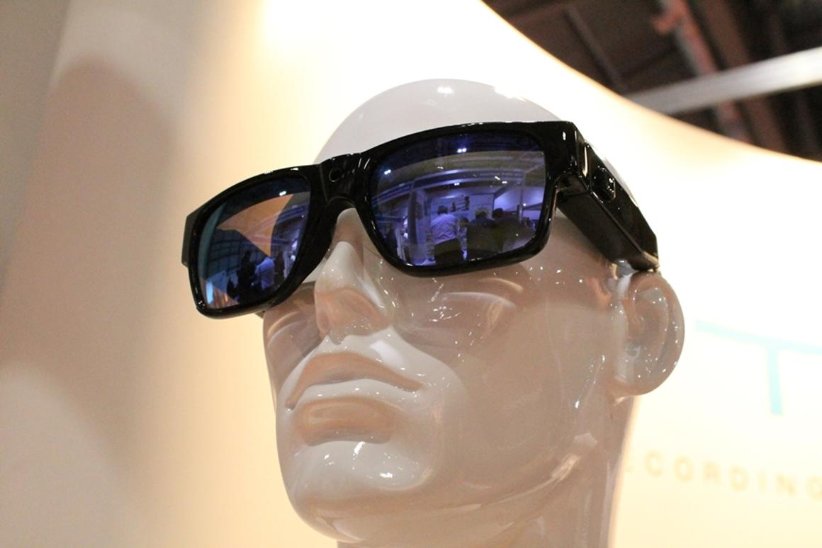 British tech company Lyte is releasing a new line of eyewear that can record HD video (Photo: Stu Robarts/Gizmag.com)