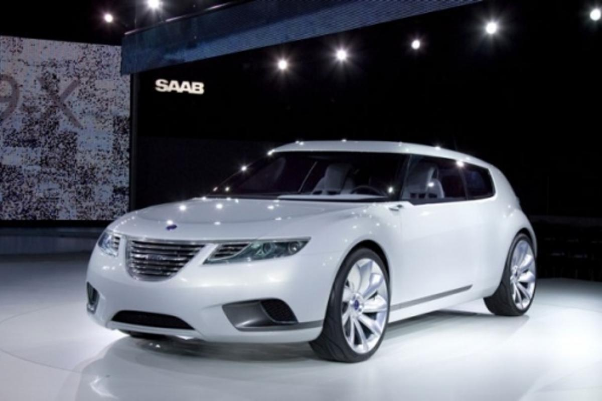 Saab 9-X BioHybrid at the Geneva Motor Show