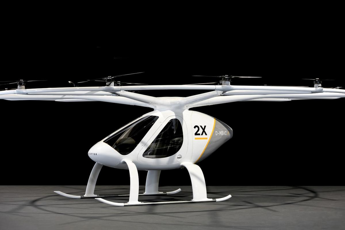 The Volocopter 2 has been mindfully crafted to win approval as an ultralight aircraft in Germany