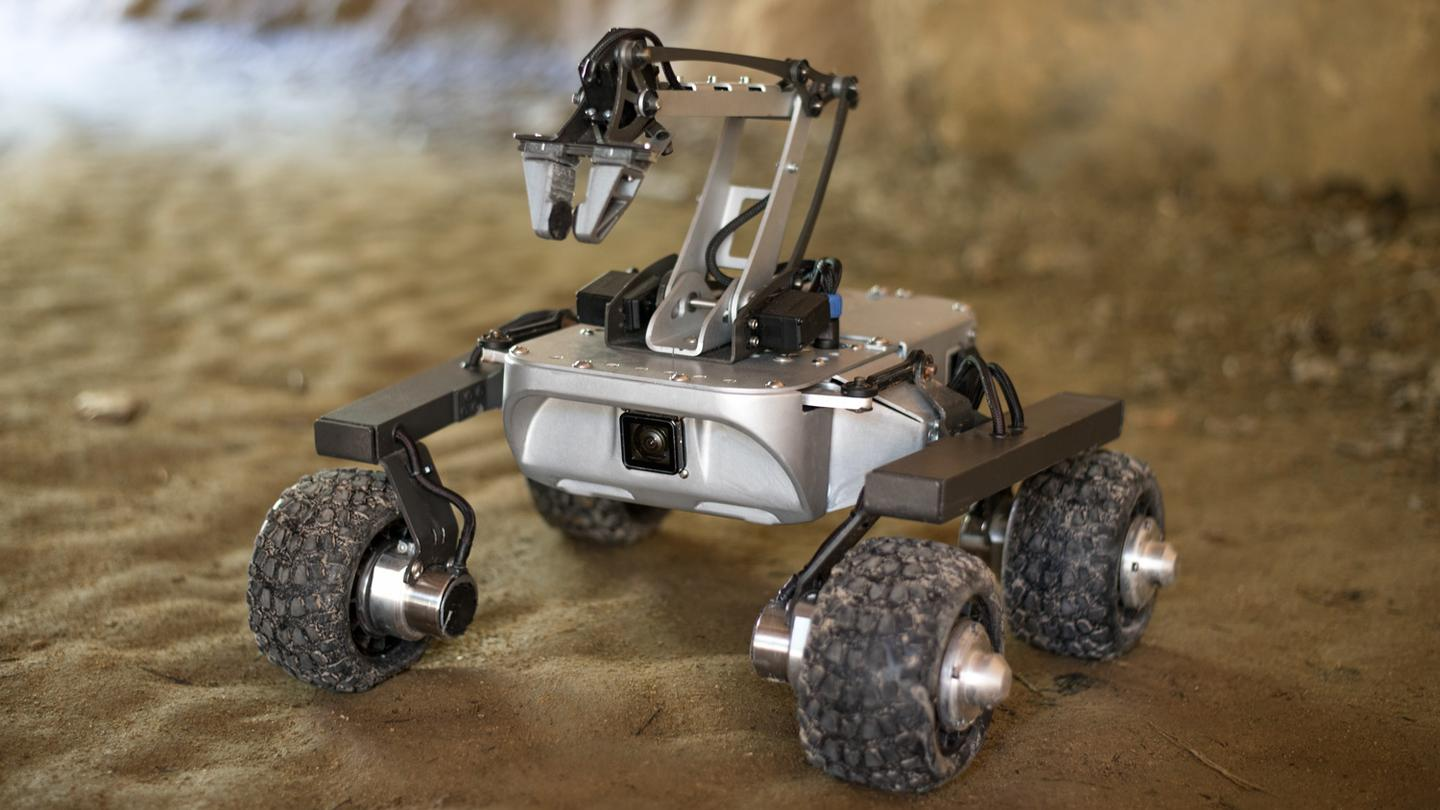 The Turtle Rover is claimed to be able to run for up to four hours on one 2-hour charge of its lithium-ion battery