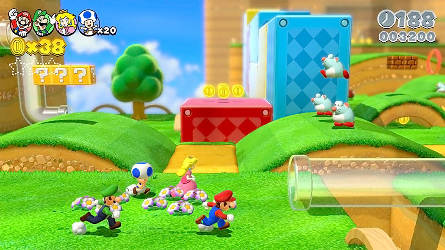 Nintendo's level design is at its very best in Super Mario 3D World