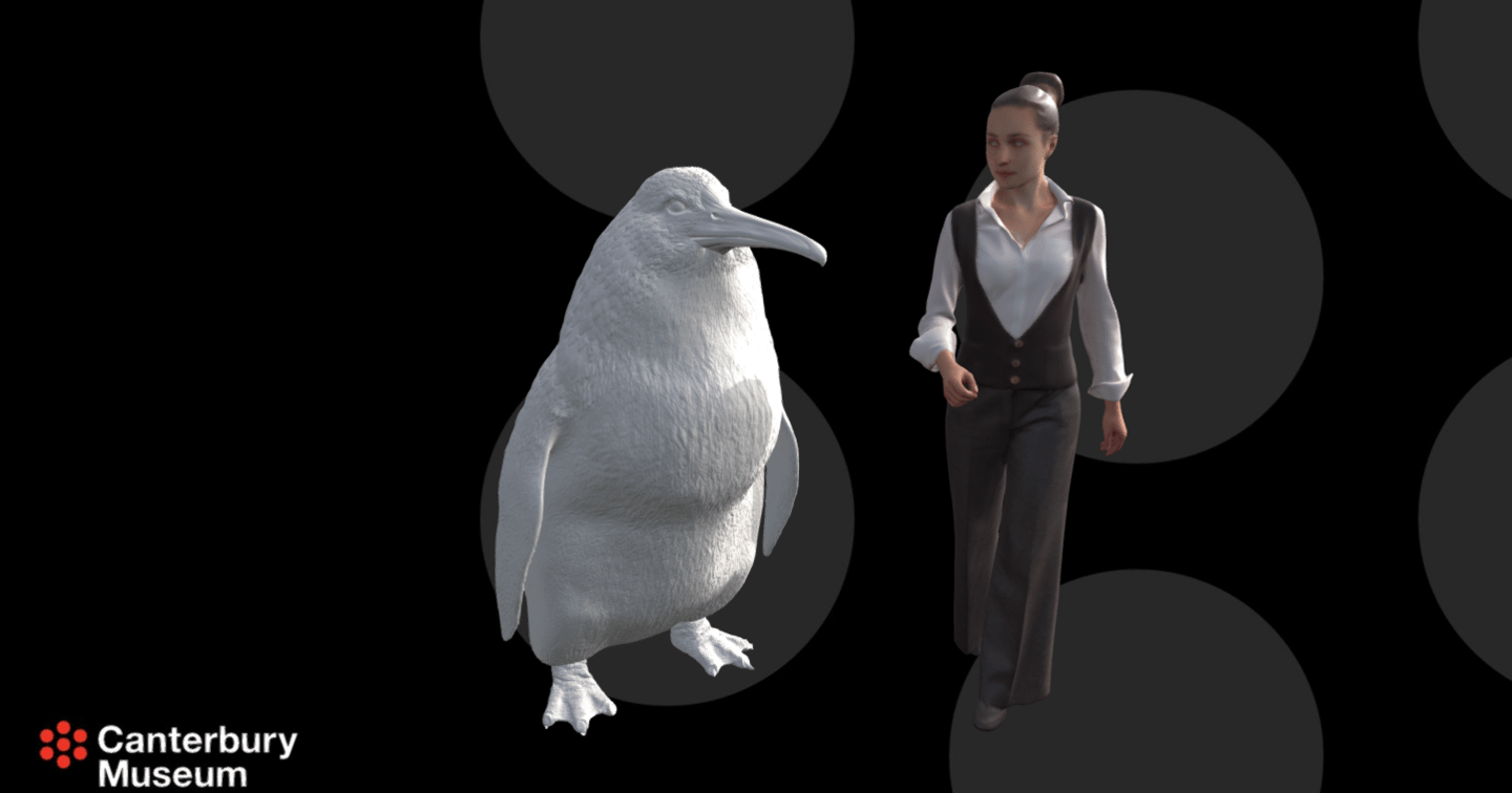 3D reconstruction of the monster penguin