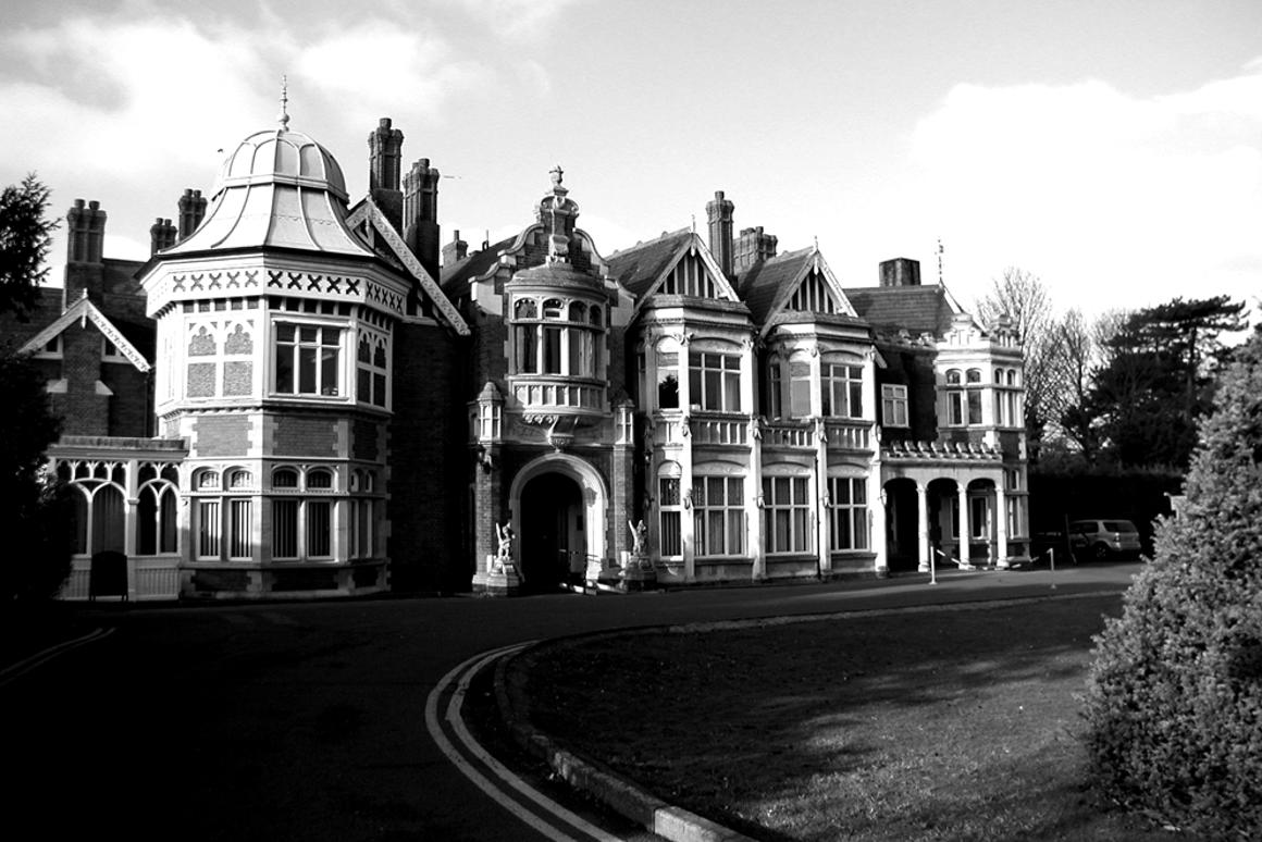 Bletchley Park Mansion (source: BP)
