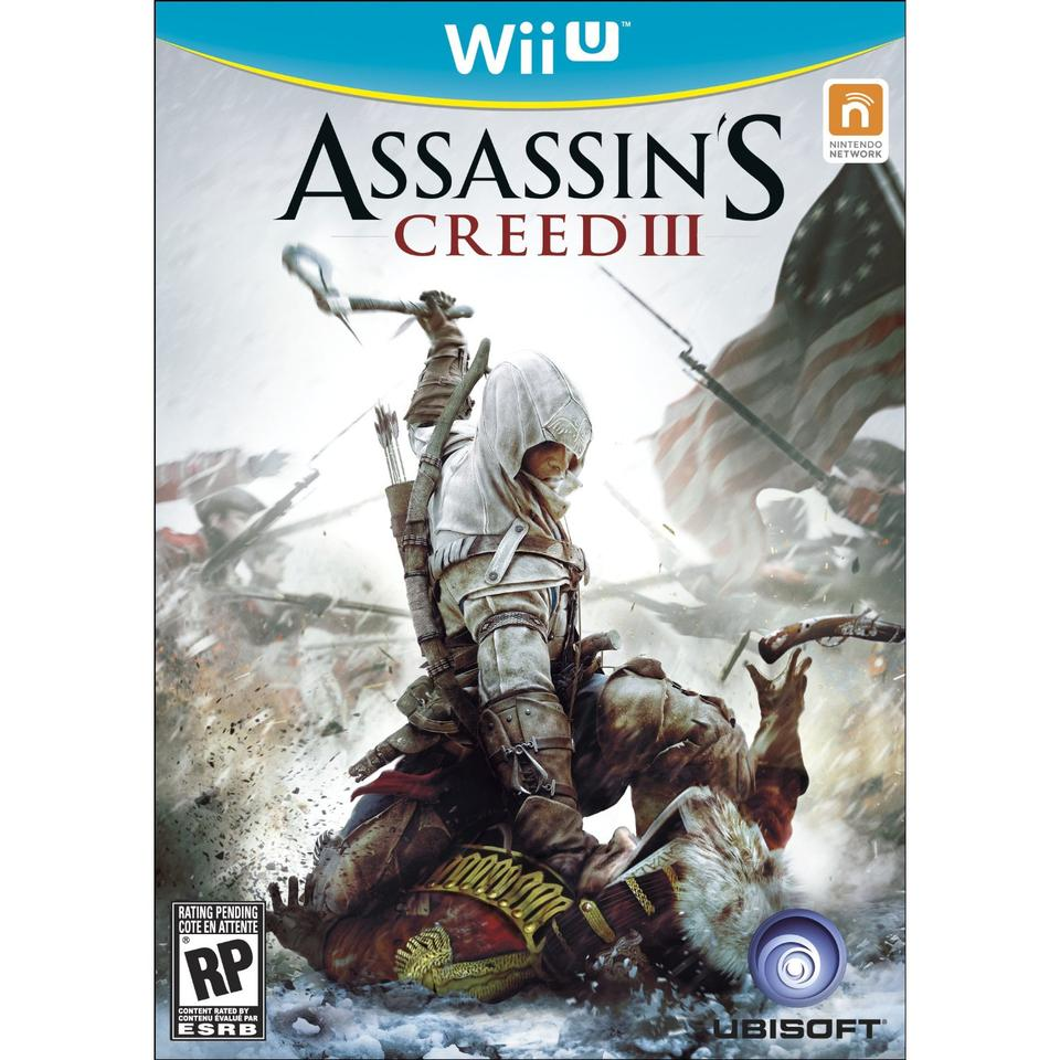 The Wii U box art is somewhat reminiscent of that seen on the cases of Nintendo's GameCube titles