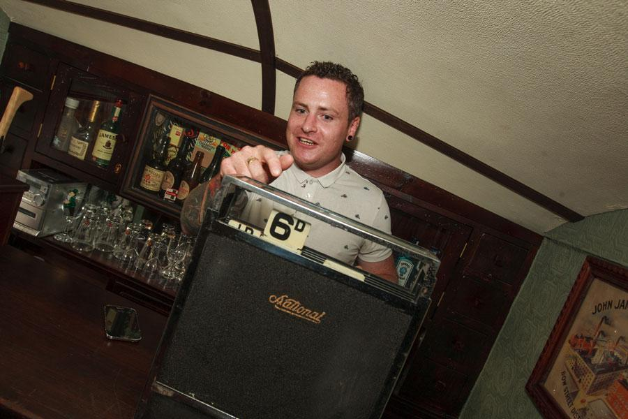 The Shebeen aims to recreate the atmosphere of an authentic Irish pub