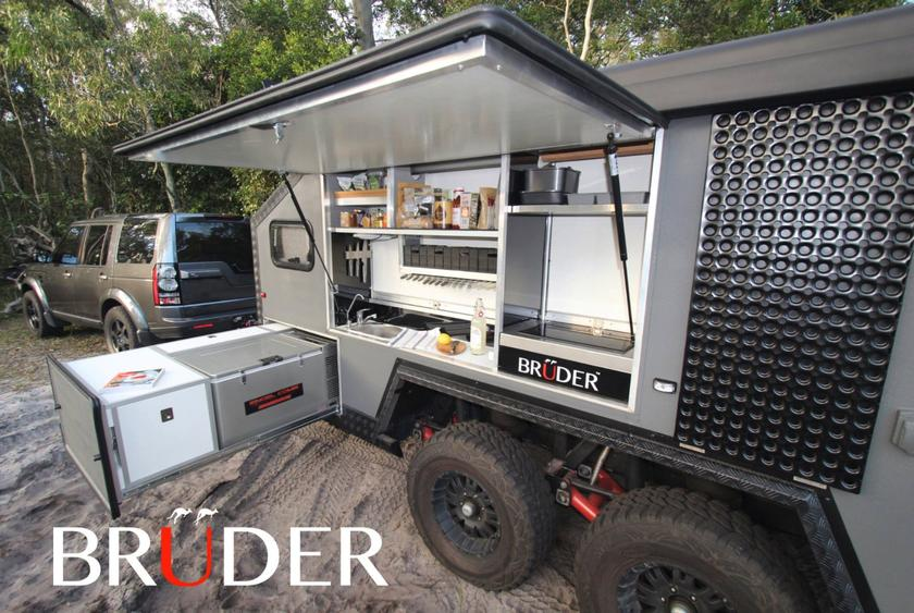 Off Road Trailers For Sale Used >> Bruder Exp 6 Trailer Brings A Touch Of Luxury To The Muddy Rocky