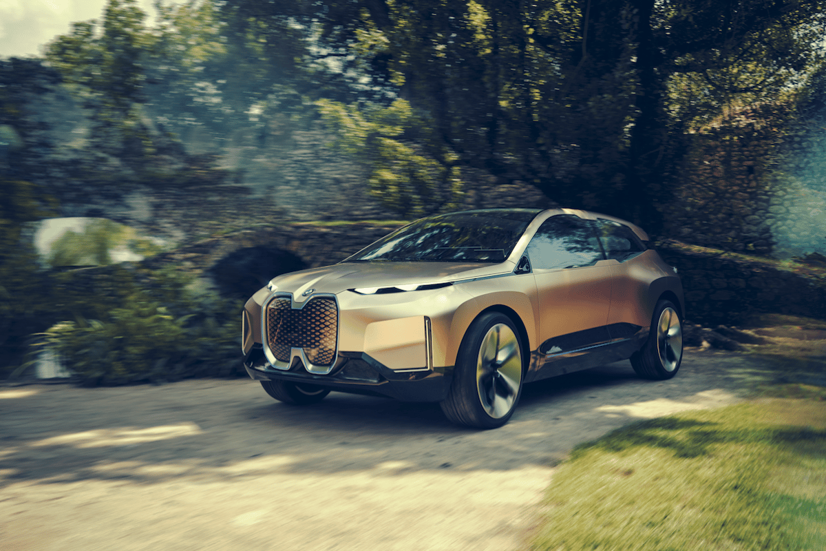 The production iNext will serve as BMW's technological flagship