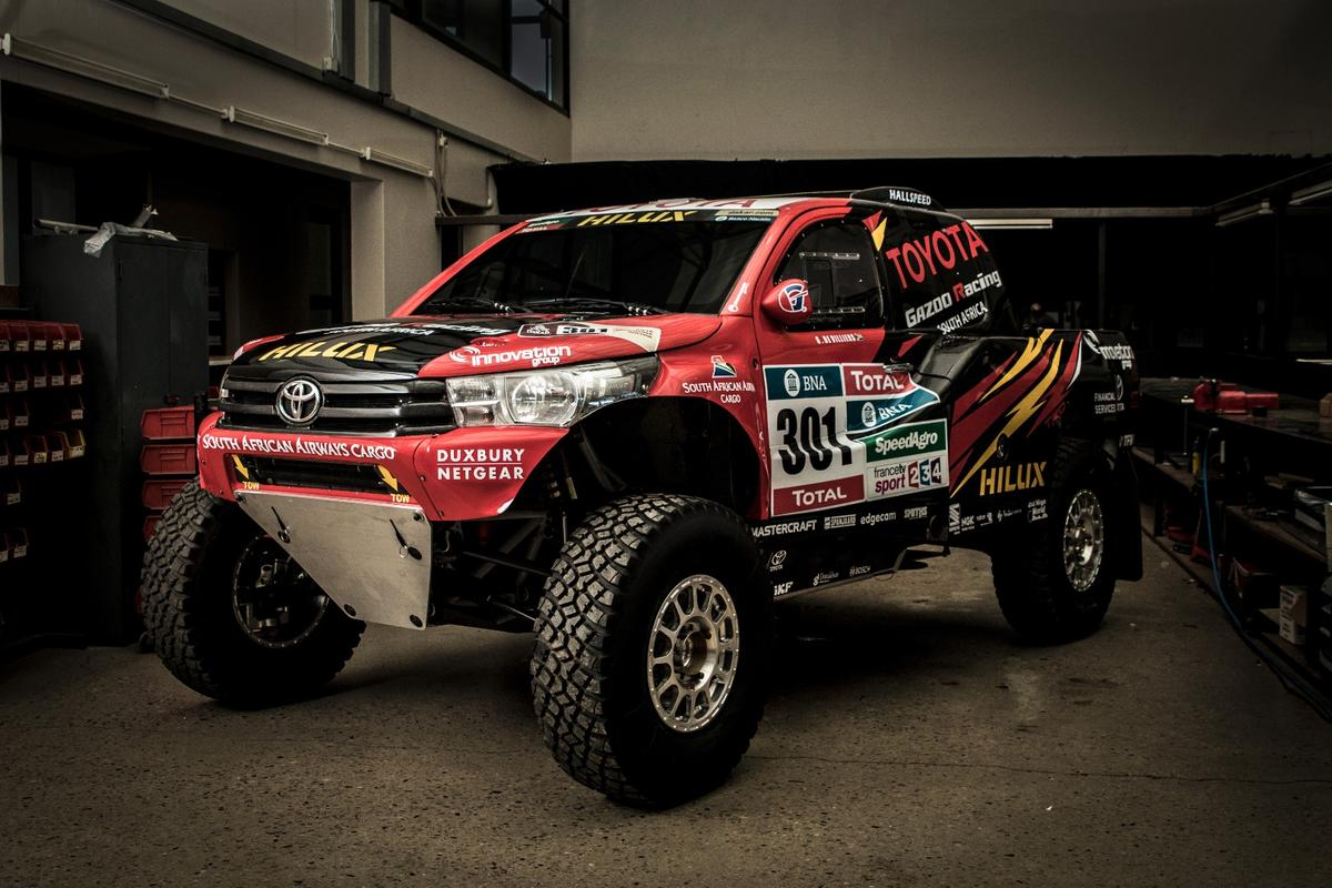 By switching to 2WD, Toyota Gazoo was able to take advantage of bigger tires, increased suspension and other improvements