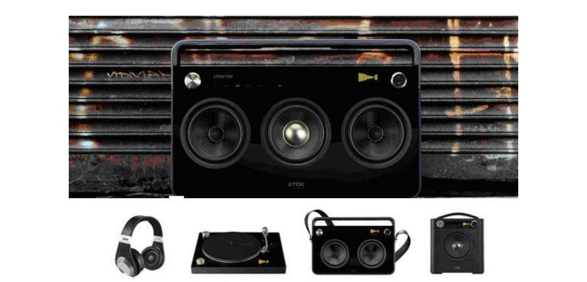 TDK has announced the release of two premium audio Boomboxes and a Sound Cube as part of its Life on Record range