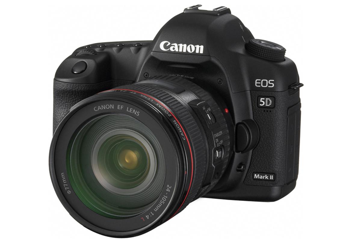 Canon is rumored to be announced the replacement for its EOS 5D Mark II (pictured) early next week