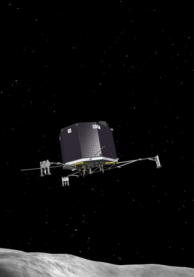 Artist's impression of the Philae lander