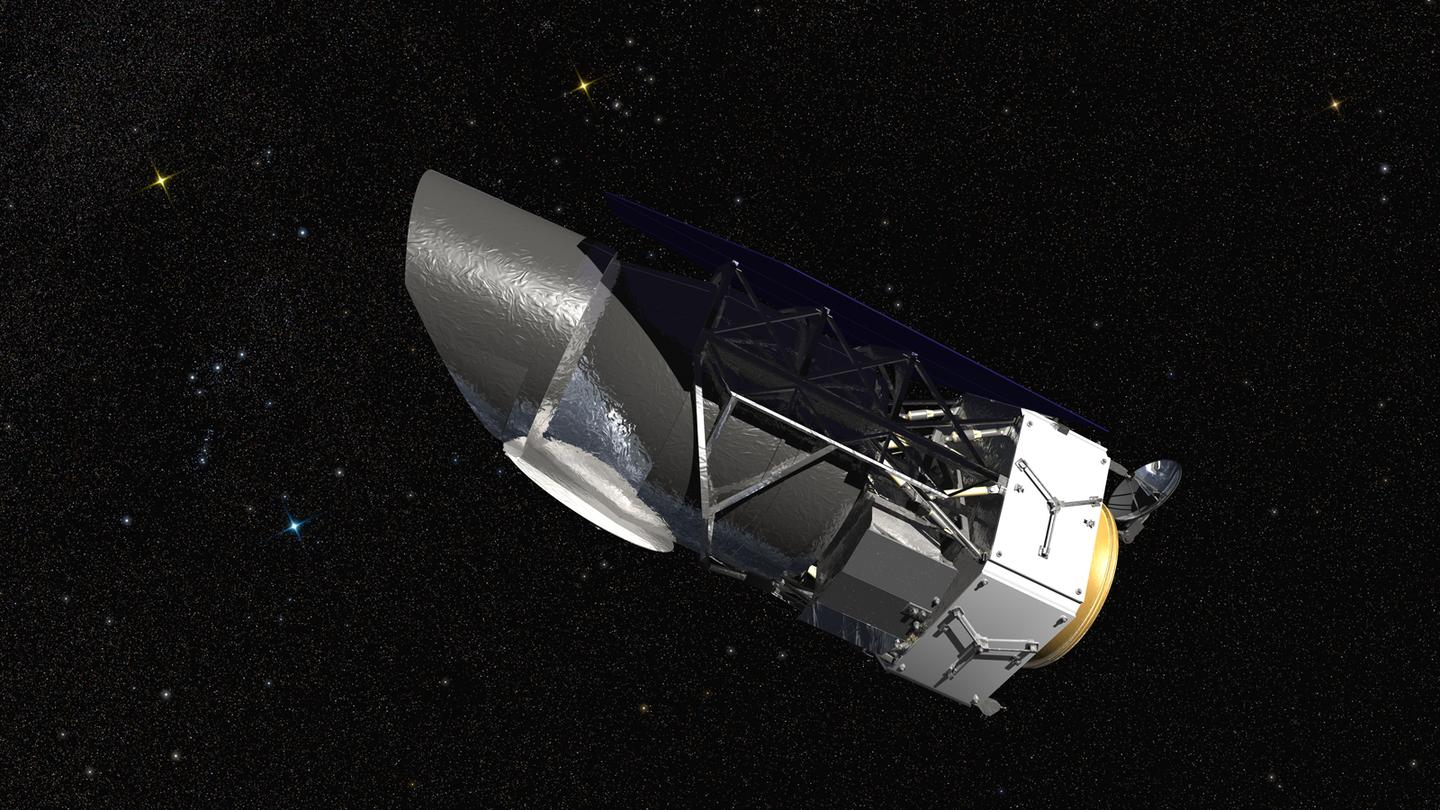 Artist's concept of the WFIRST telescope