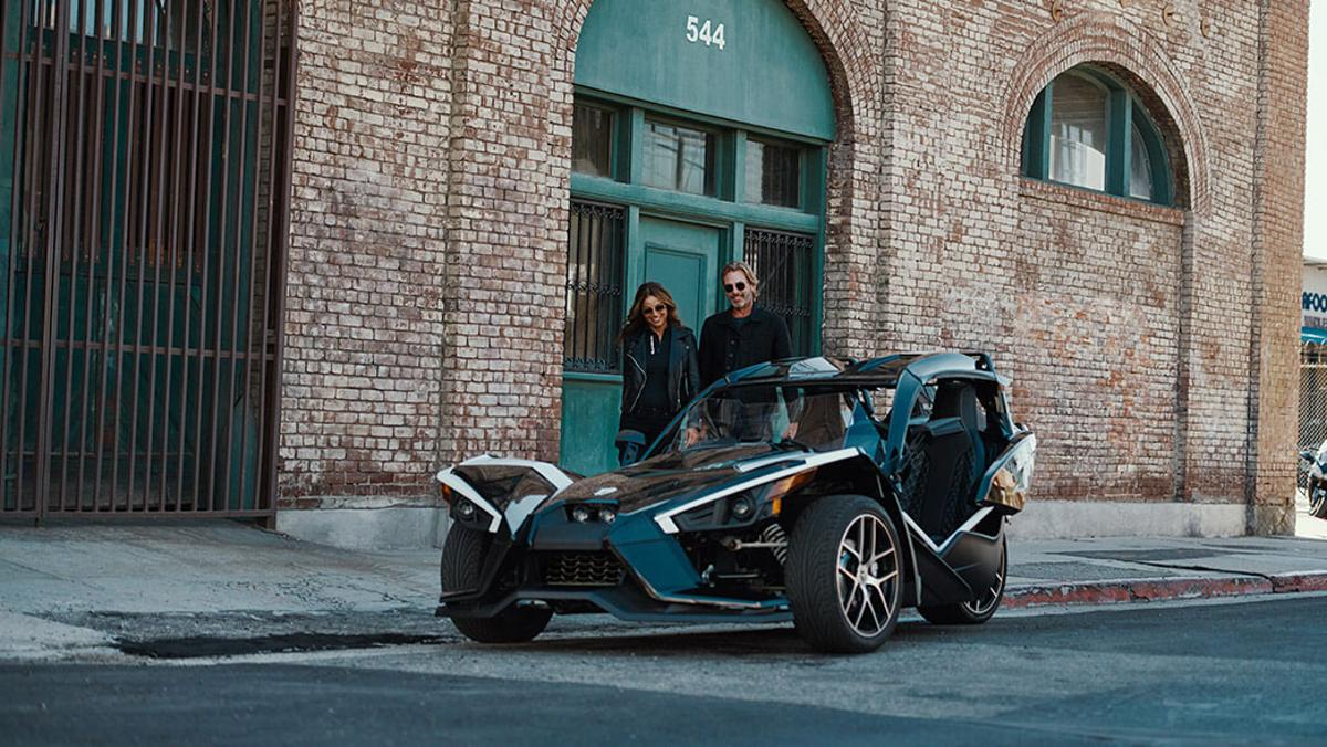 The Polaris Slingshot Grand Touring might even make other Slingshot owners take notice