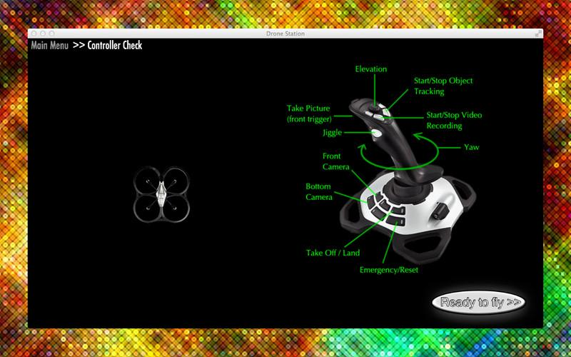 The Drone Station app lets users remotely pilot an AR.Drone quadricopter using video game controllers on a Mac