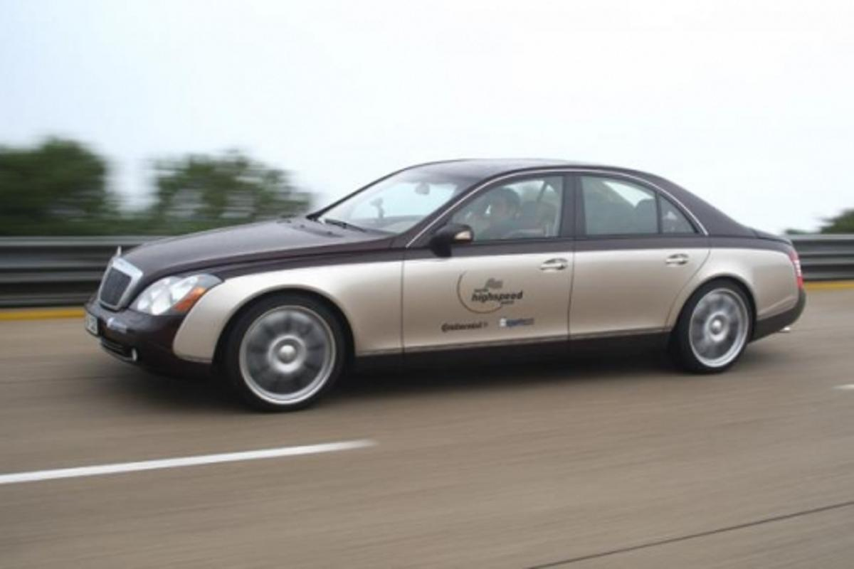 BRABUS powered Maybach 57 luxury-sedan