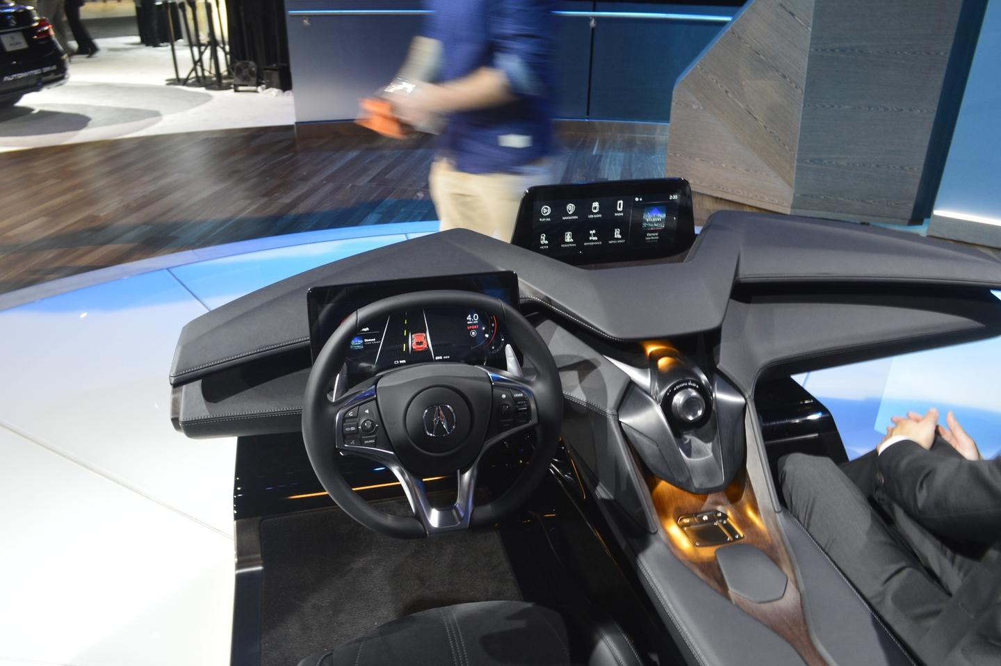 The Acura Precision Cockpit, on display in LA