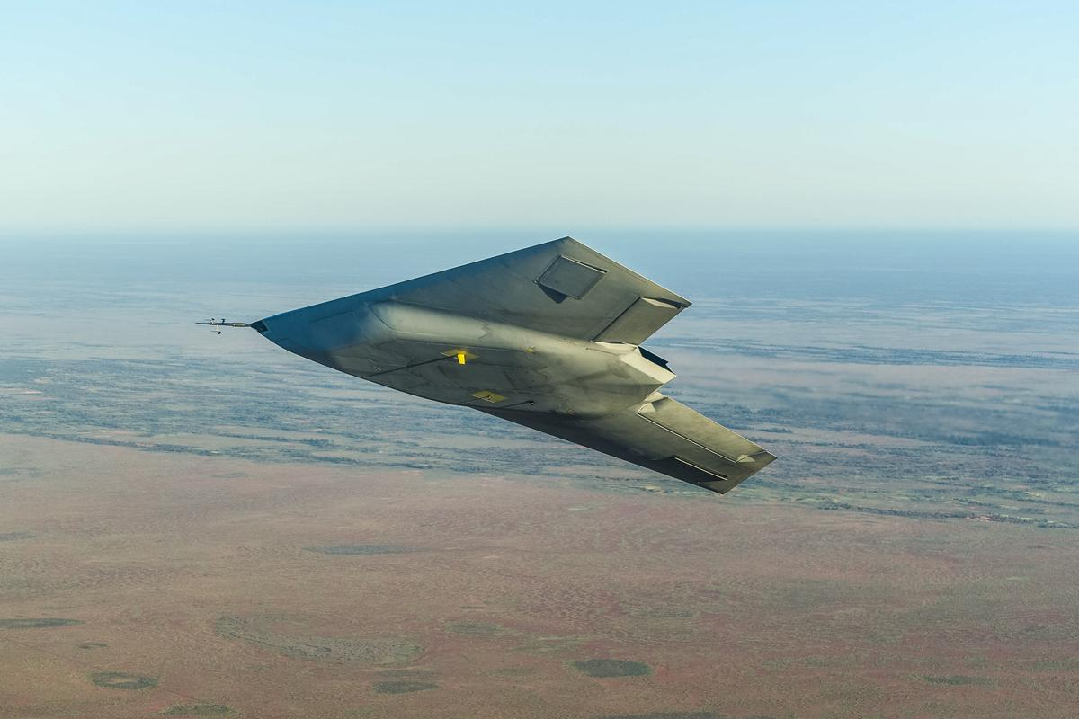 The Taranis test flight was at an undisclosed location outside the UK