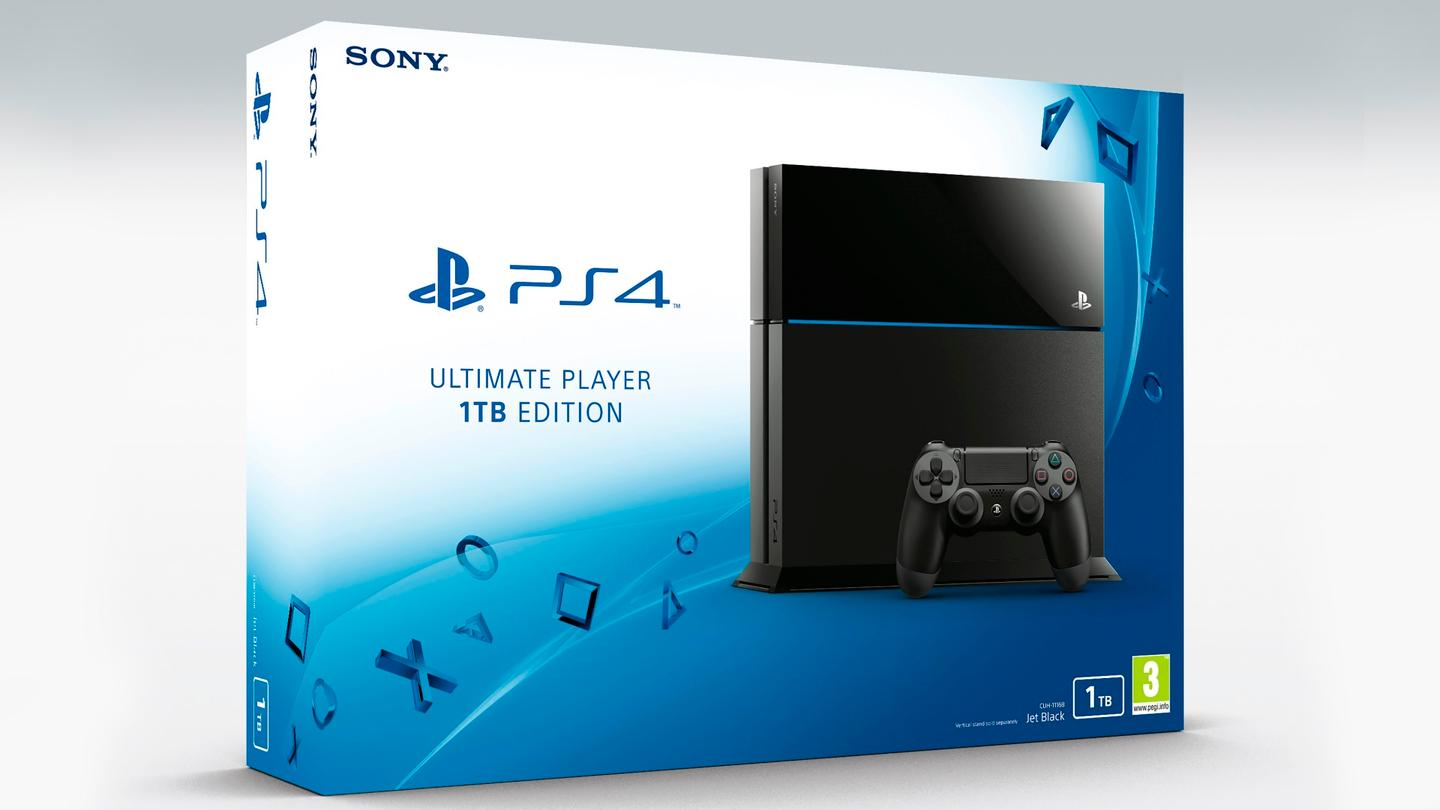Sony's higher capacity PS4 will compete directly with Microsoft's 1 TB Xbox One
