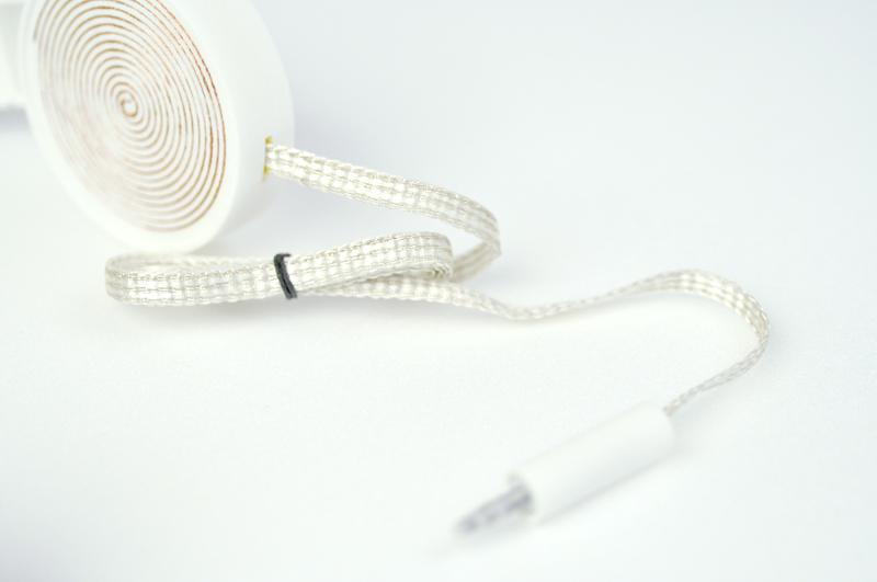 All the parts in J. C. Karich's headphones were either 3D printed, or assembled from basic materials