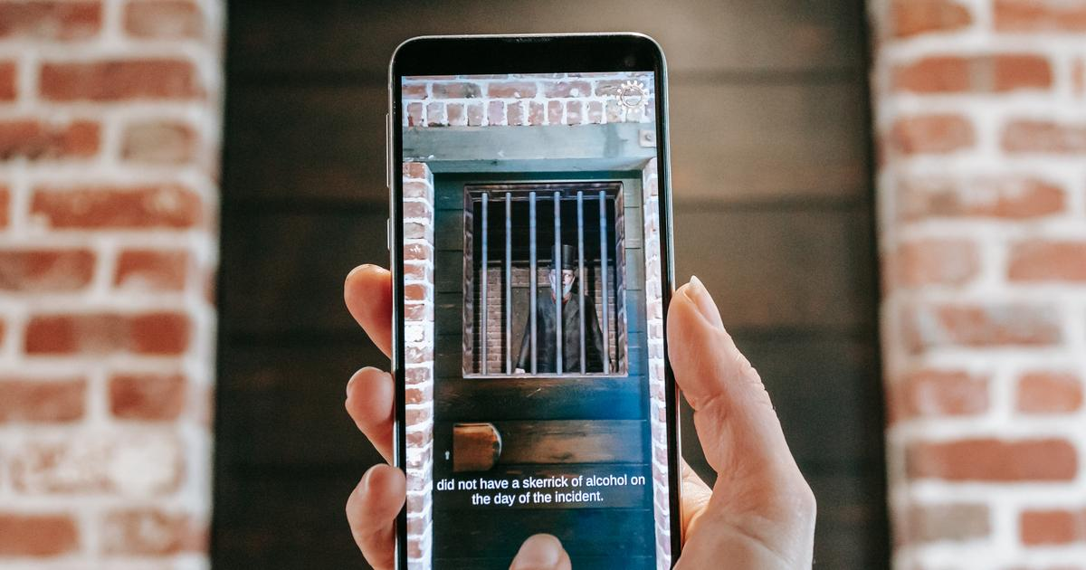 Augmented reality true crime tour opens a virtual window to the past