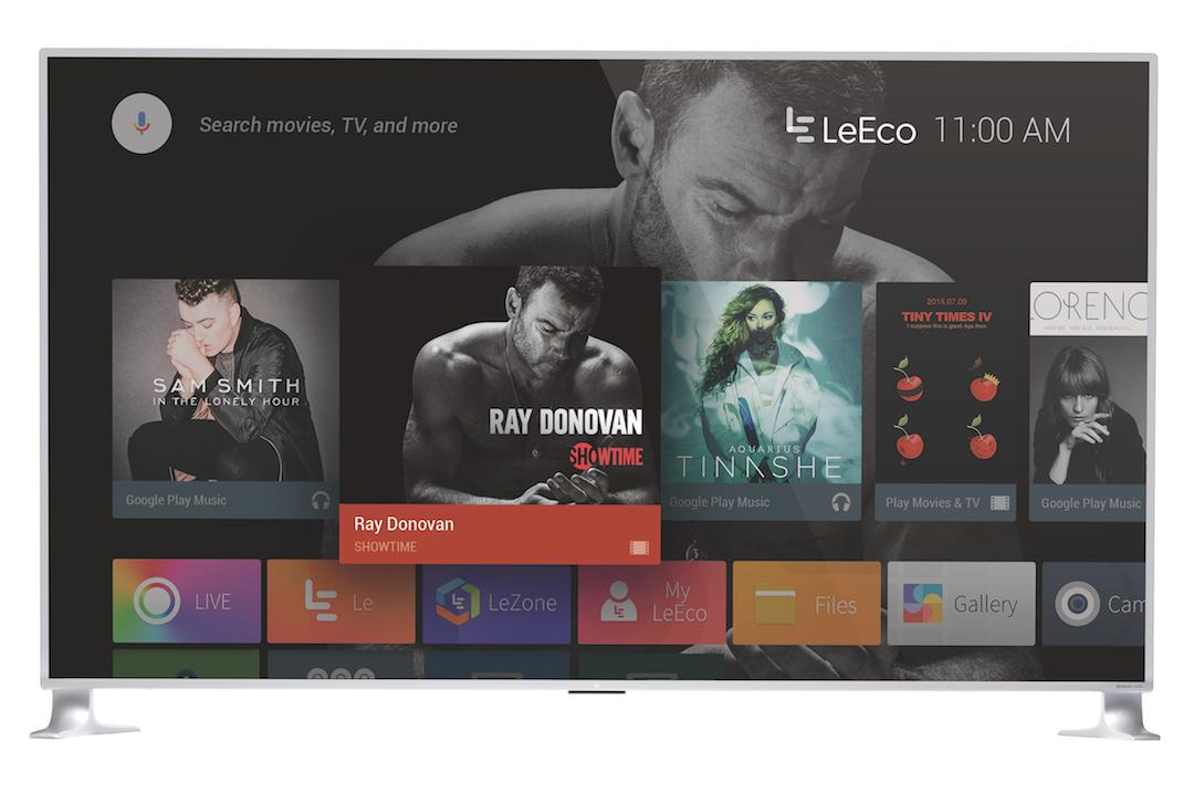 LeEco'srange of TVs, including the mammoth uMax85, connect easilywith the rest of the company's ecosystem