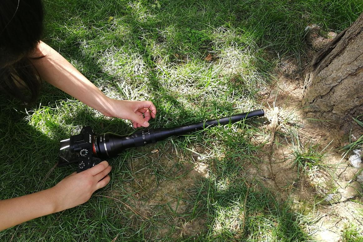 Laowa's wild macro probe lens gives you a wide-angle bug's