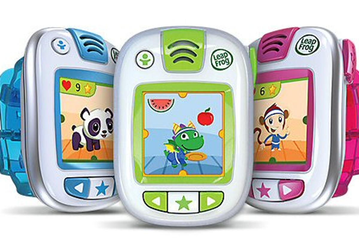 LeapBand is a children's activity tracker that encourages them to move through activity challenges and exciting games