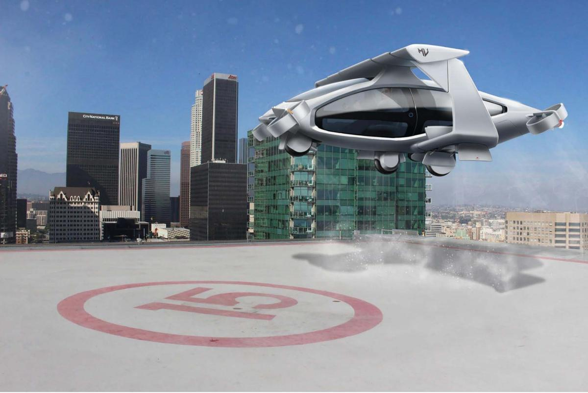 Macchina Volantisis planning anelectric VTOL aircraftwithspace for five seats