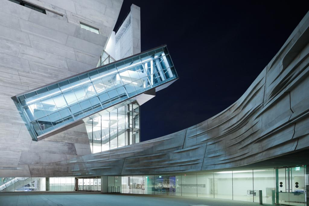 The Perot Museum of Nature and Science, by Morphosis Architects, won the Architecture Merit award