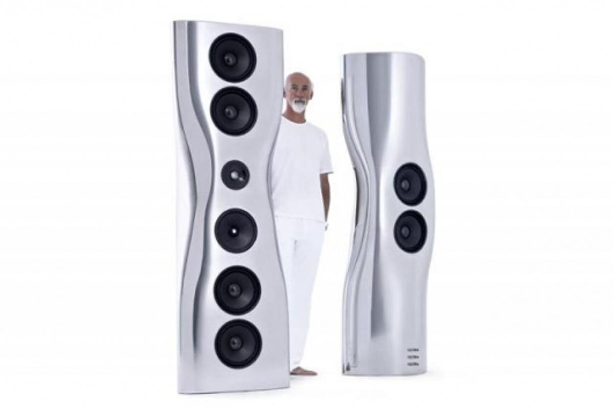 KEF MUON Speakers by Ross Lovegrove