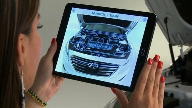 Later this year, Hyundai will launch the Virtual Guide app for the 2015 Sonata model