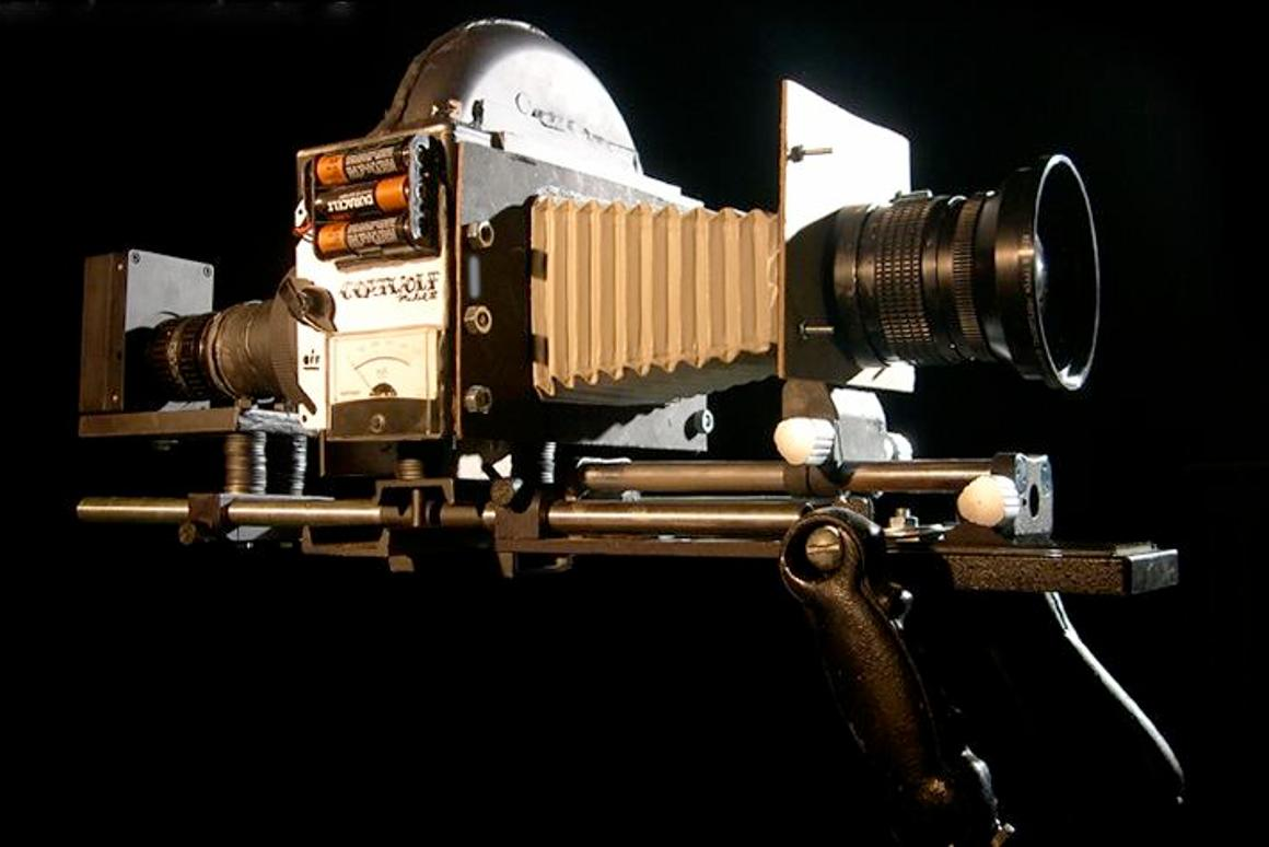 Evan Glodell's Coatwolf Model II digital cinema camera