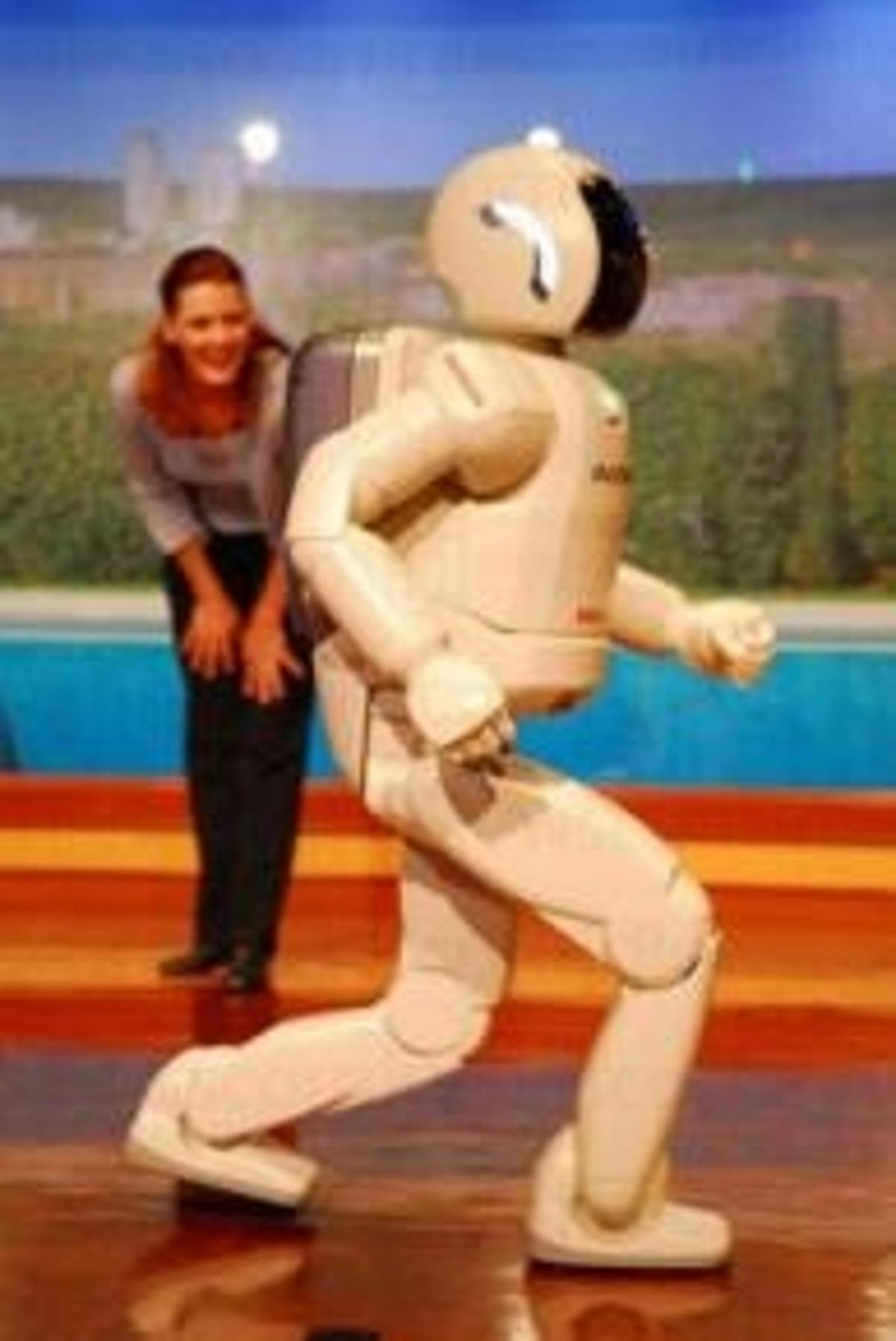 ASIMO on stage at Disneyland