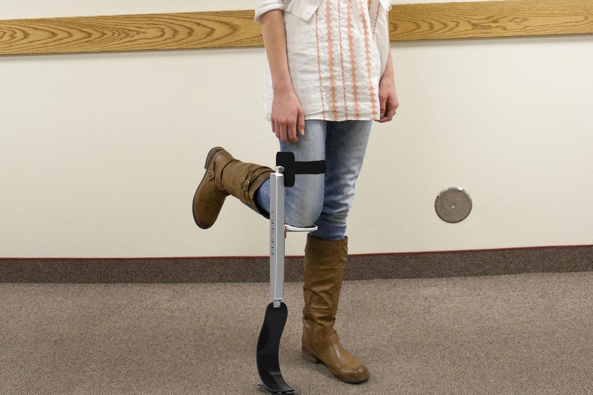 No more crutches? Flex Leg provides mobility assistance