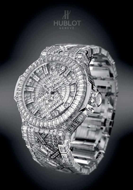 Hublot's US$5 million Big Bang watch just may be the most expensive ever made