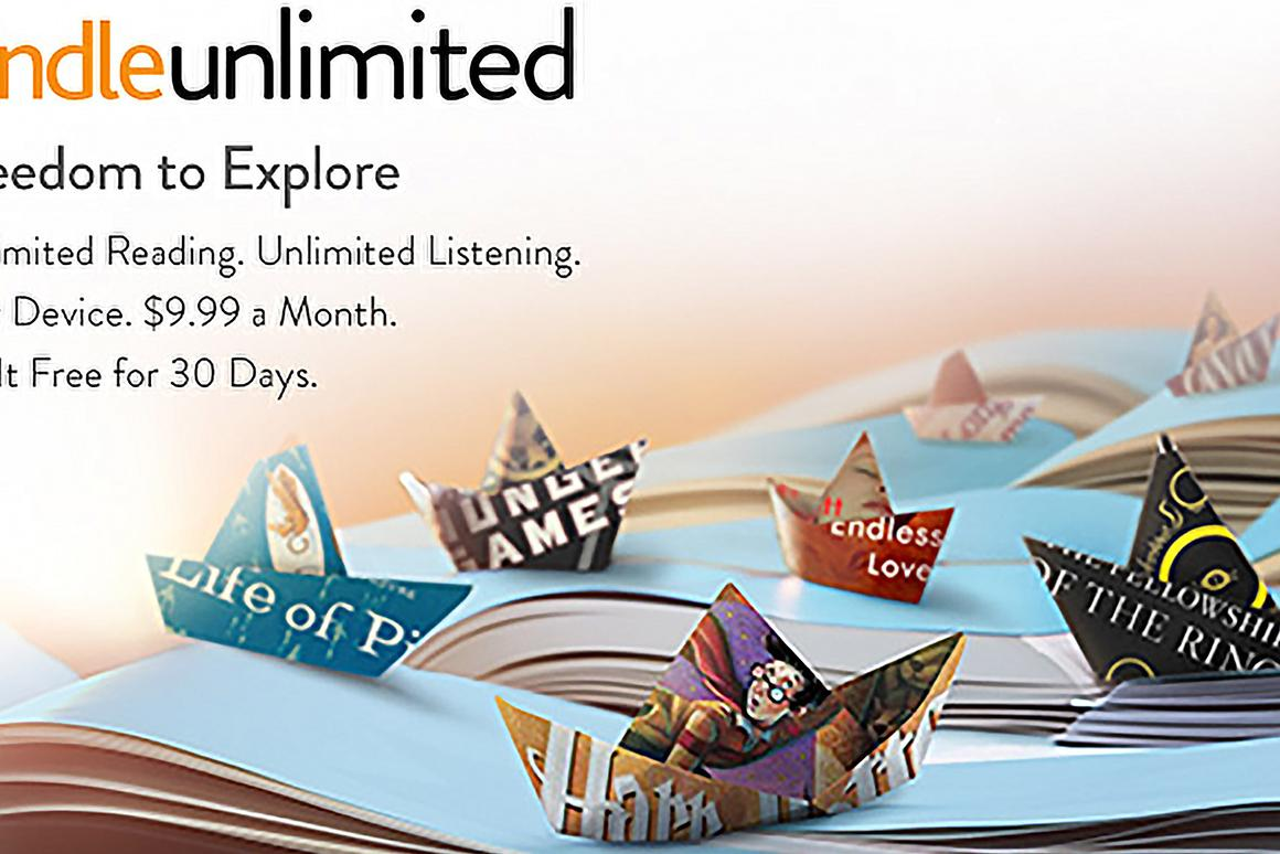 Amazon's new Kindle Unlimited service takes a Netflix-esque approach to e-books