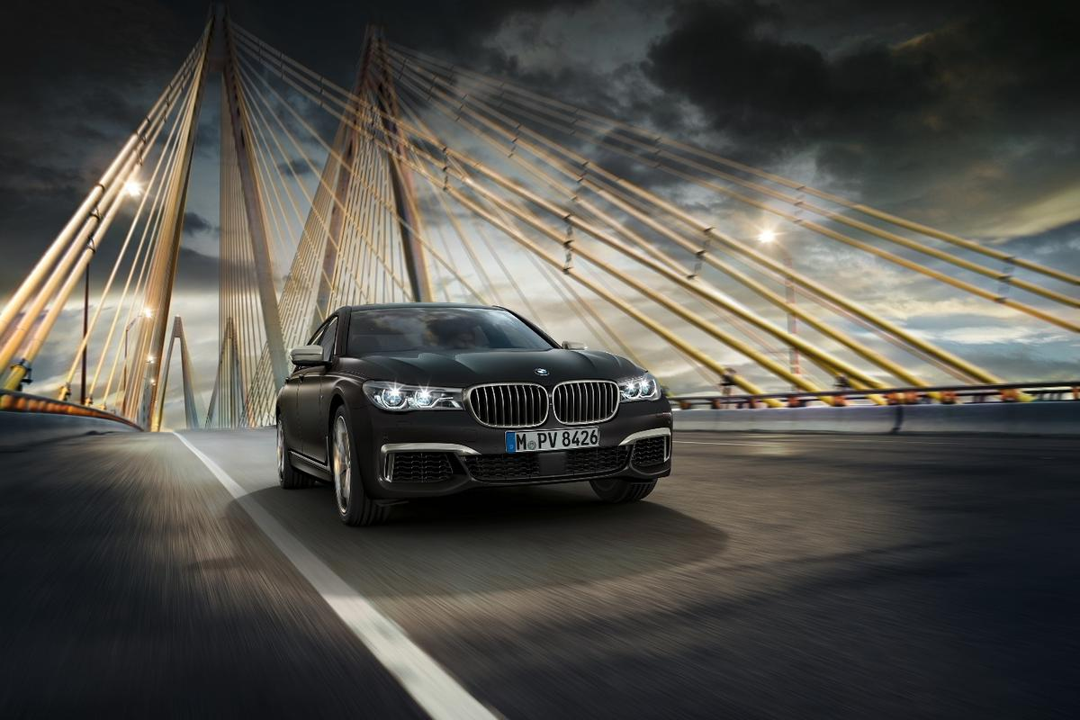 The M760Li mightn't have a particularly catchy name, but it will get you to your meeting on time thanks to a 6.6-liter V12