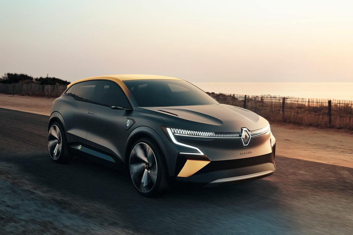 The Mégane eVision show car heralds an all-electric hatch set to roll soon