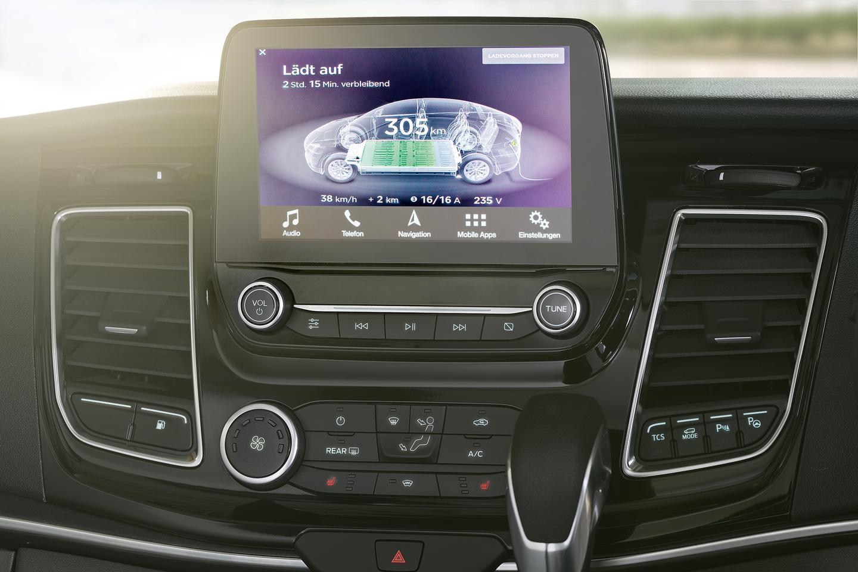 Dethleffs' Globevan e.Hybrid is based on a Ford Transit Custom plug-in hybrid van
