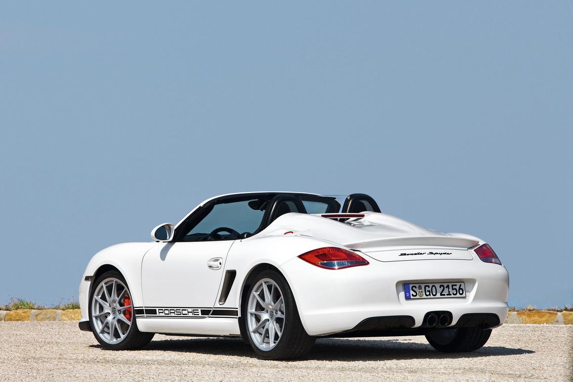 The 2010 Porsche Boxster Spyder