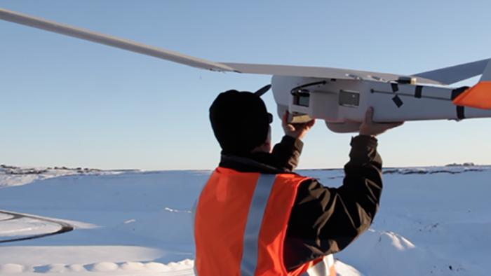 AeroVironment's Puma drones has been used to assist in an Antarctic icebreaking mission