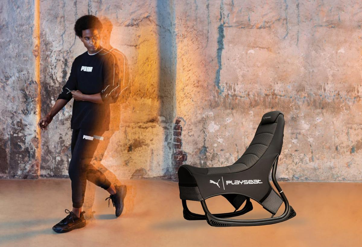 Puma and Playseat are targeting gamers with their game seat