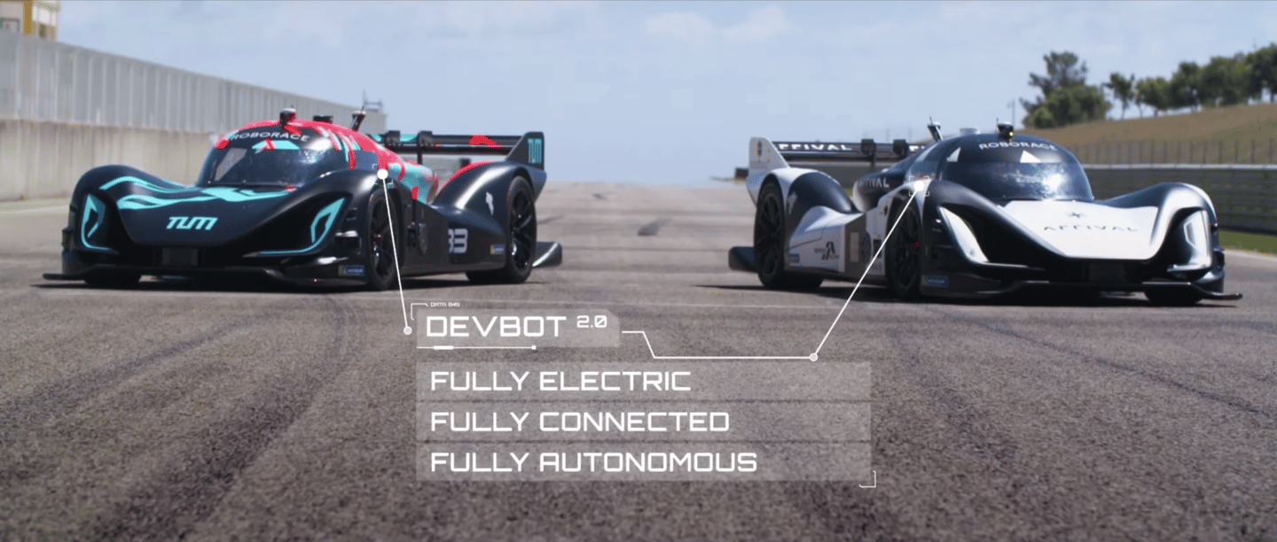 Fast and fully autonomous: the Roborace machines