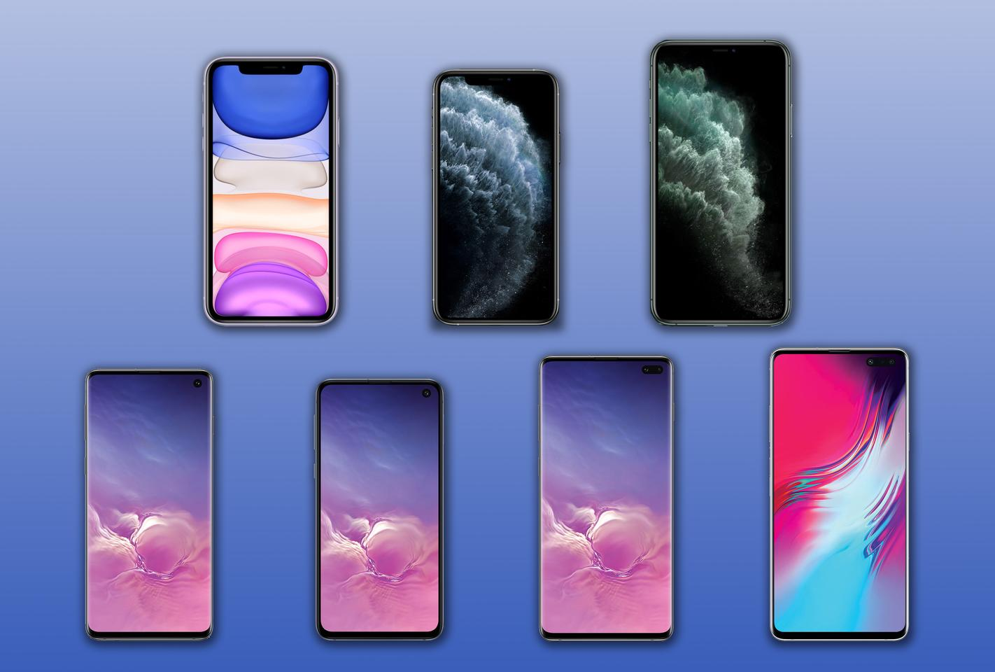 New Atlas compares the specs and features of the iPhone 11, 11 Pro and 11 Pro Max to the Samsung Galaxy S10e, S10, S10+ and S10 5G.