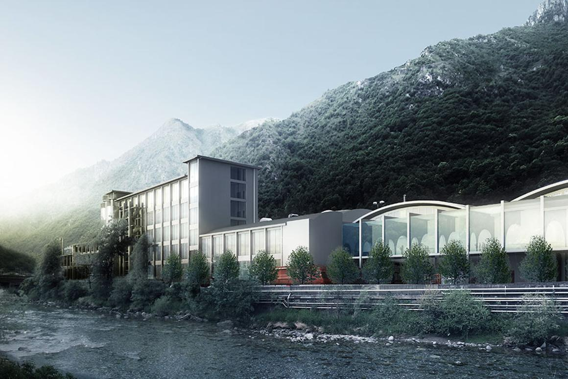 BIG will collaborate with Arup, Studio Verticale and others on the S.Pellegrino Flagship Factory