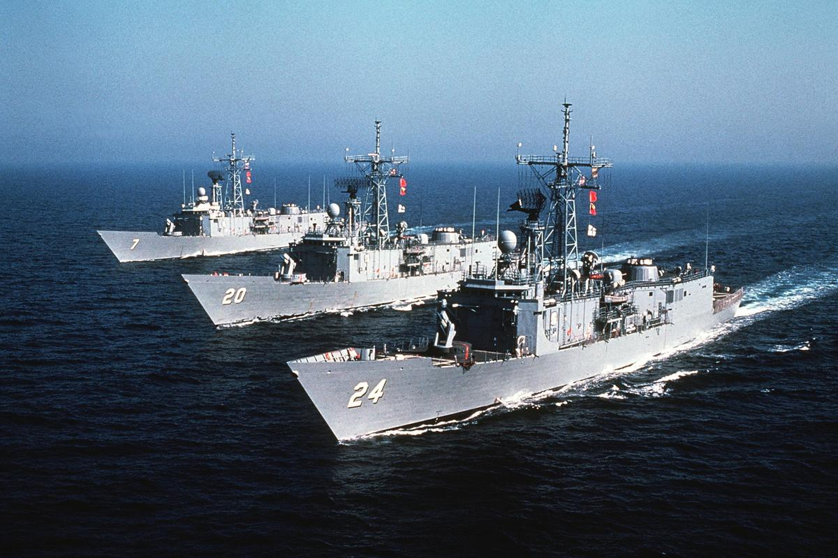 The Oliver Hazard Perry class was the last frigate in the US Navy