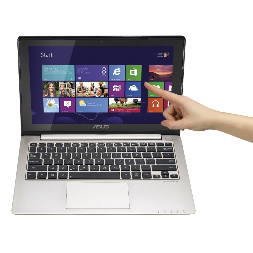ASUS VivoBook X202 comes with Windows 8 installed