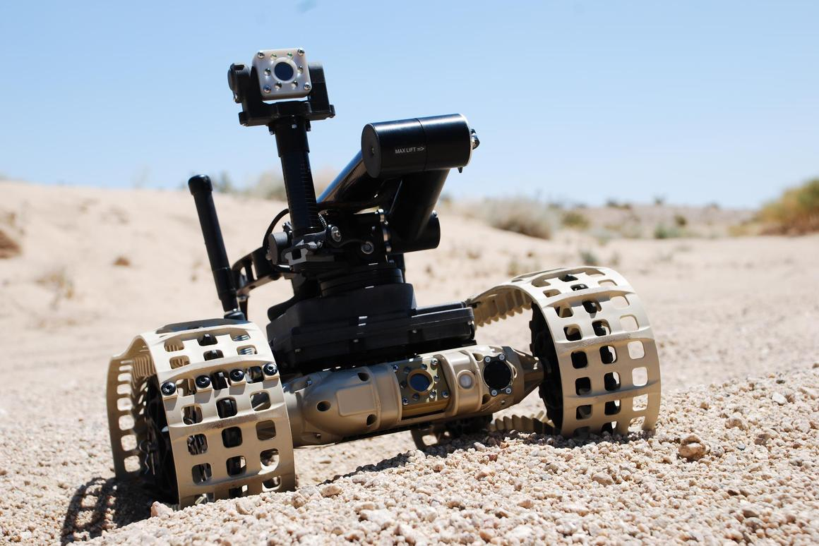 QinetiQ's DR10 is intended for military and first responder duties