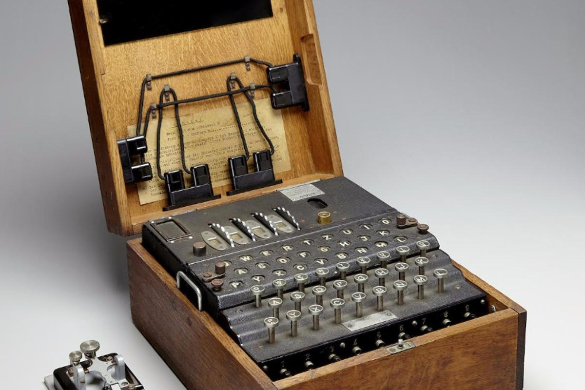 The Enigma M4 was used by the German Kriegsmarine during WWII