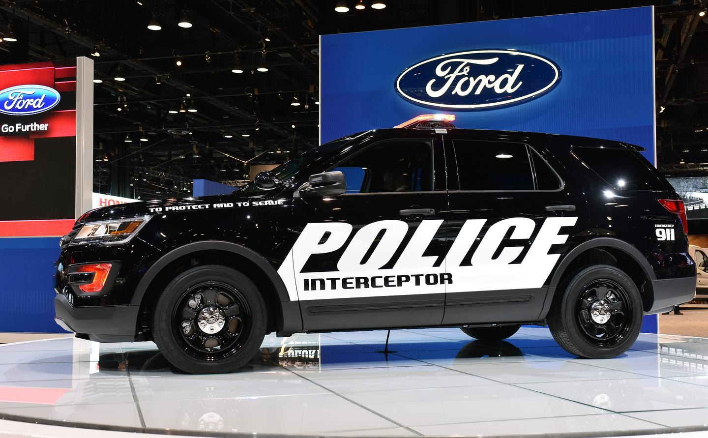 The Ford Police Interceptor Utility will be offered with a choice of two different engines